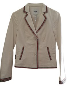 Moschino Blazer Cream Jacket