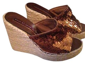 Marc by Marc Jacobs Bronze Wedges