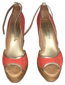 Paloma Barceló Red Wedges