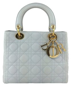 Dior Gold Hardware Lambskin Cross Body Bag