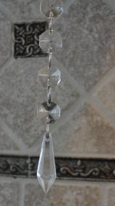 Clear 5 Inch Hanging Icicles Only Cents Each Reception Decoration