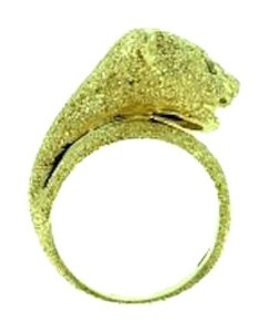 Other VERY COOL LOOKING - 14k Gold Diamond Panther ring