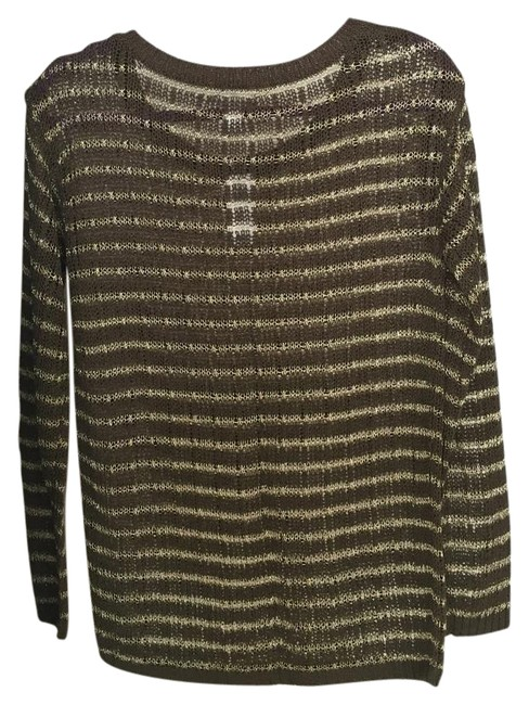 Preload https://img-static.tradesy.com/item/16760893/banana-republic-green-and-gold-sweater-0-2-650-650.jpg