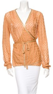 Missoni Top orange metallic