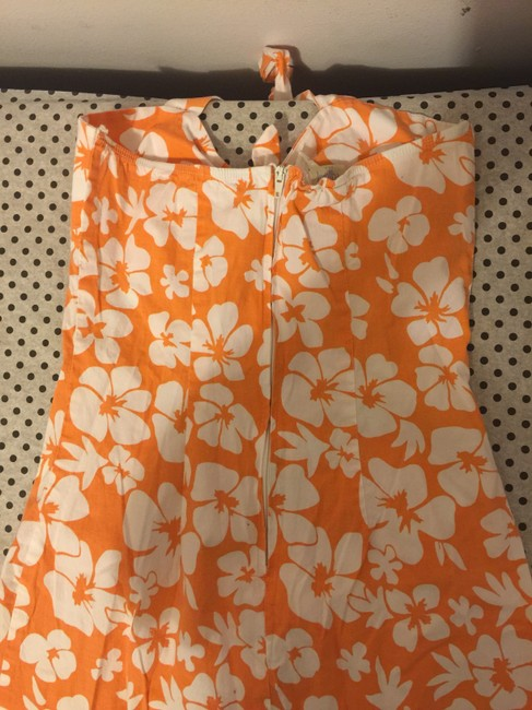 Korz, Max Studio, Tiffany USA short dress Orange Lite Brown on Tradesy