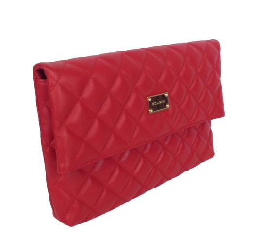 St. John red Clutch Image 1