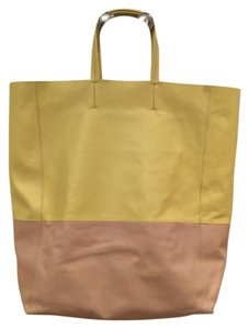Céline Tote in yellow/tan