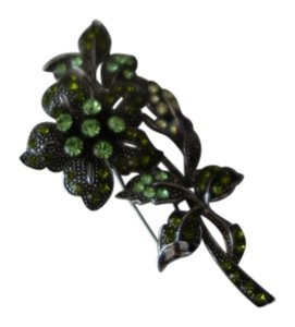 Shiekh Beautiful Green Goodluck Broach