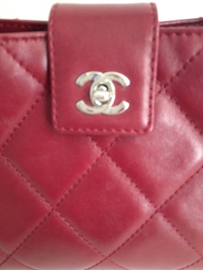 Chanel Satchel in red Maroon Image 4