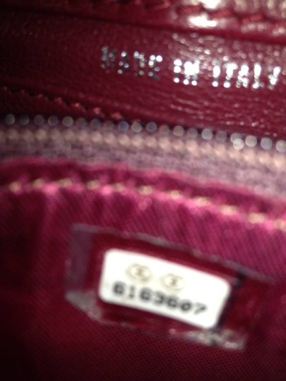 Chanel Satchel in red Maroon Image 6