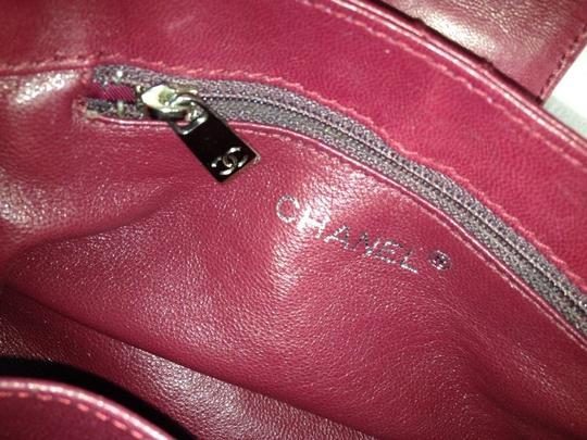 Chanel Satchel in red Maroon Image 8