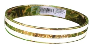 Marc by Marc Jacobs Marc by Marc Jacobs golden striped logo bangle bracelet