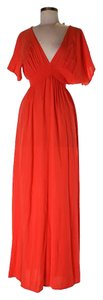Orange Maxi Dress by Michael Kors