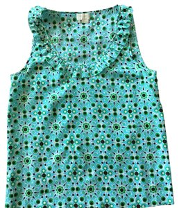 Kate Spade Top Blue/ Green Multi