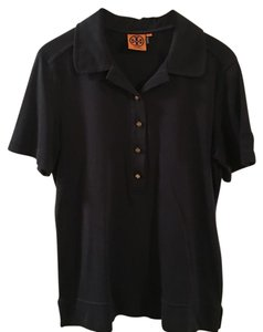 Tory Burch Button Down Shirt Navy Blue