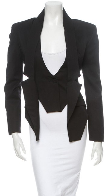 jean pierre braganza black Jacket