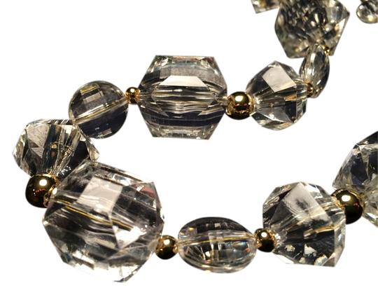 Kate Spade Urban Chic Kate Spade Sparkle Plenty Necklace 12K Gold Plated Faceted Crystal