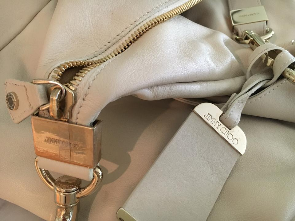 Leather Choo Bag Interior with Creme Suede Shoulder A Jimmy zvqEFww