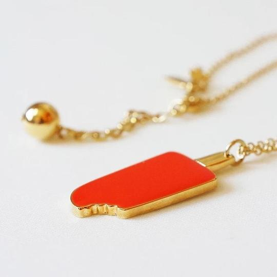 Preload https://item1.tradesy.com/images/kate-spade-ate-spade-maraschino-red-orange-popcicle-necklace-1676210-0-1.jpg?width=440&height=440