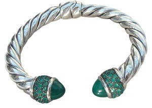 David Yurman David Yurman Osetra Bracelet With green onyx