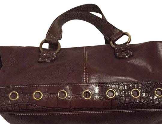 Tommy Hilfiger Satchel in Dark Brown