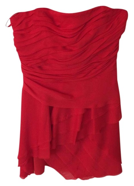 Preload https://img-static.tradesy.com/item/16762930/intermix-red-exclusive-above-knee-cocktail-dress-size-petite-2-xs-0-1-650-650.jpg