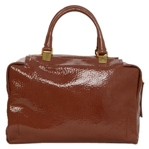 Lanvin Doctor Satchel in Camel