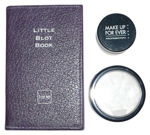 MAC Cosmetics MAC Set Powder + MUFE HD Microfinish Powder + tarte Little Blot Book