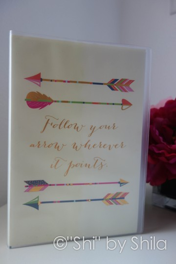 Other Follow your arrow wherever it points notebook