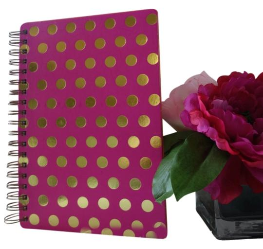 Preload https://item2.tradesy.com/images/pink-and-gold-polka-dots-with-notebook-1676481-0-0.jpg?width=440&height=440