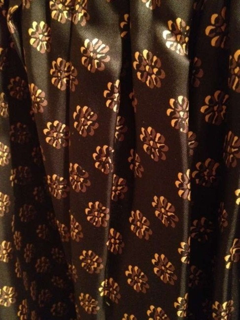 DKNY Skirt Black With Gold