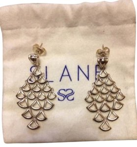 SLANE Slane and Slane Feather Mesh Chandelier Earrings