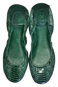 Tory Burch Green Flats