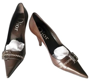 Dior Ships Next Day | Chocolate Brown Pumps