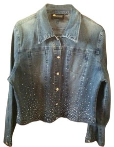 Christine Alexander Denim Womens Jean Jacket