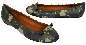 Marc by Marc Jacobs Ballerina Espadrille Stud Camouflage Flats