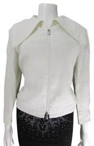 Giorgio Armani Armani Women Fashion Women Ladies White Jacket