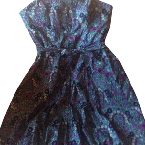 Plenty by Tracy Reese short dress Multi, grey, purple, blue, pink, green, white on Tradesy