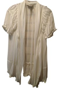 Randolph Duke Top Sheer Ivory/Cream