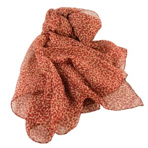 Saint Laurent SAINT LAURENT Leopard Print Scarf