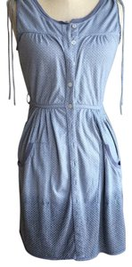 Free People short dress ombre grey blue on Tradesy