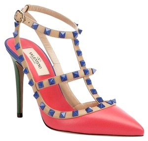 Valentino Multi color block Pumps