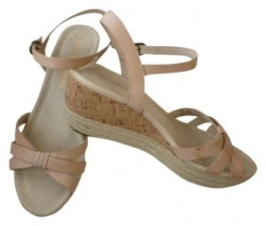 Franco Sarto Tan/Barley Wedges