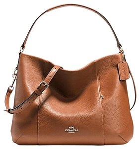 Coach Slouchy Hobo Tote Shoulder Soft Leather Cross Body Bag