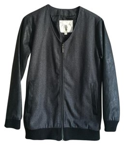Knot Sisters Grey / Black Jacket