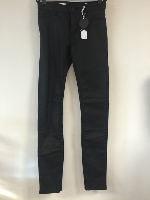 Restricted Skinny Jeans-Coated Image 2