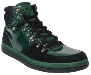 Gucci Mens High Top Sneaker Mens Sneakers 368496 multicolor Athletic