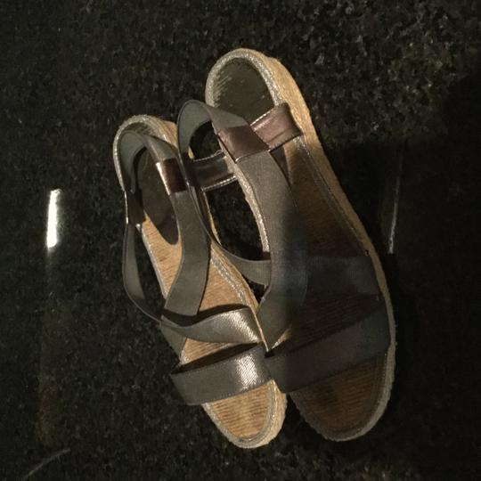 Andre Assous Silver with broad accents Sandals Image 7