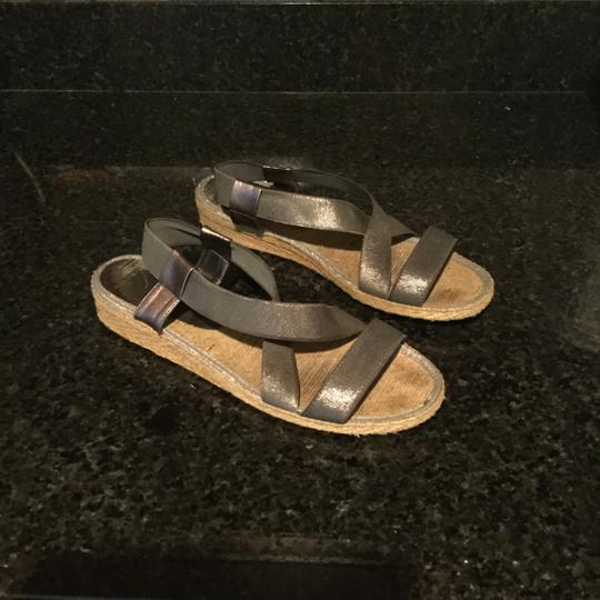 Andre Assous Silver with broad accents Sandals Image 8