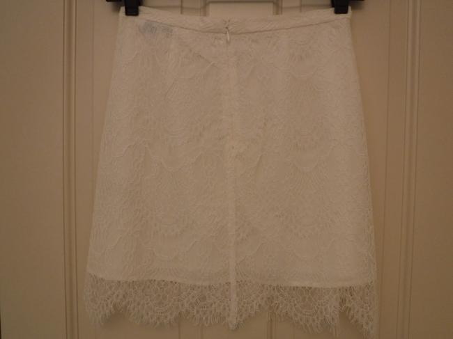 cupcakes and cashmere Lace Mini Skirt White Image 3